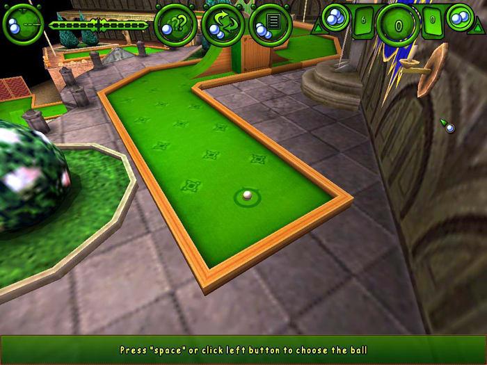 3-D Mini Golf