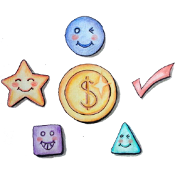 5 Icons Income