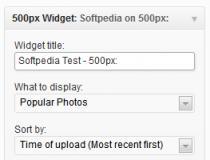 500px Widget