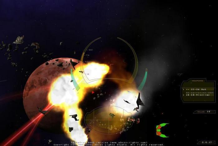 Abyss Lights: Frozen Systems Alpha
