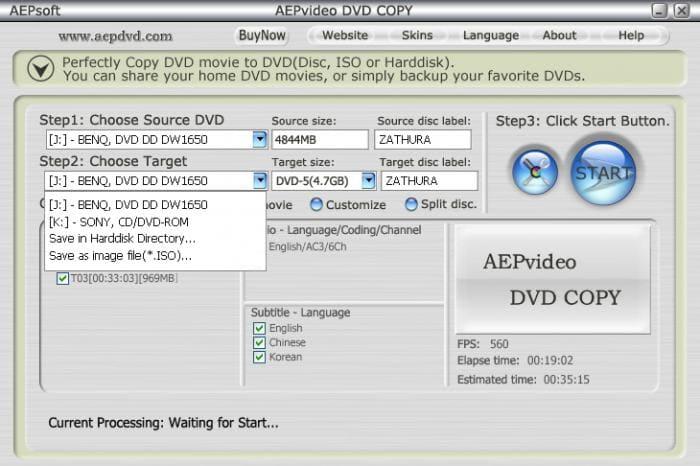 AEPvideo DVD COPY