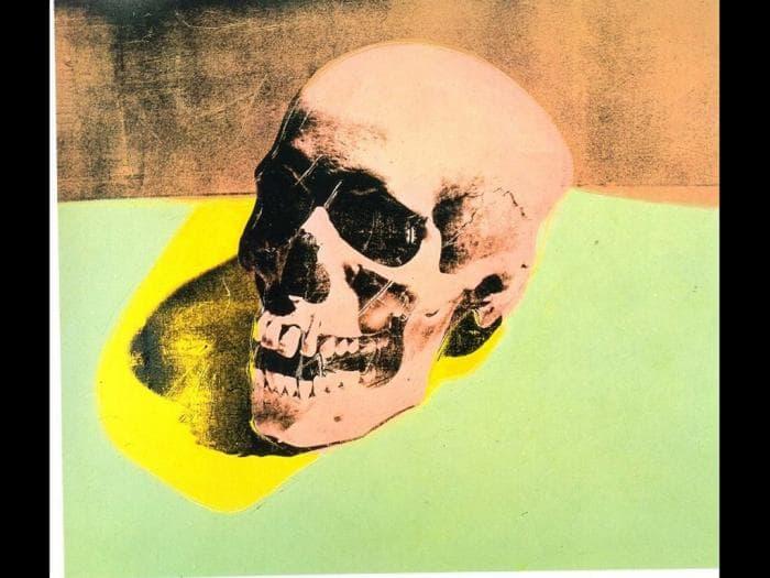 Andy Warhol Skull Desktop