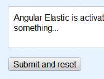 Angular Elastic
