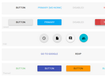 Angular Material Design