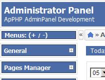 ApPHP AdminPanel Pro
