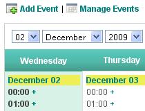 ApPHP Calendar Pro