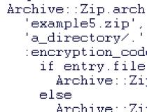 Archive::Zip