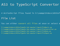 AS3 To TypeScript Convertor