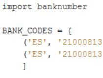 banknumber