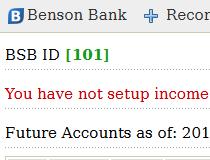 Benson Bank CMS