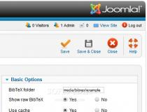 BibTeX for Joomla