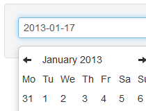 Bootstrap Datepicker for Rails