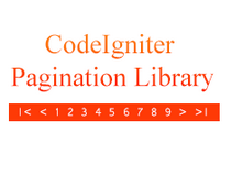 CodeIgniter Pagination Library