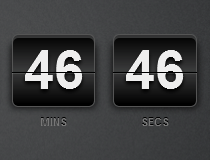 CSS3 Countdown