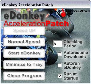 eDonkey Acceleration Patch