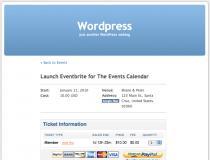 Eventbrite for The Events Calendar