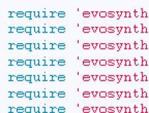 EvoSynth