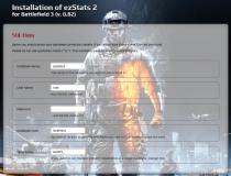 ezStats for Battlefield 3