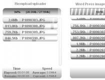 Flexupload multithread uploader