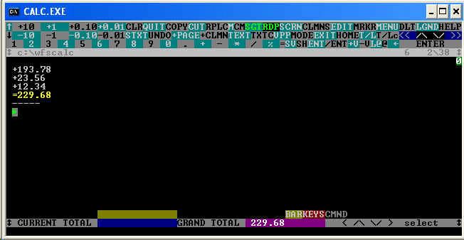 Full Screen Calculator