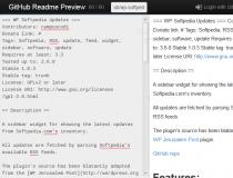 GitHub Readme Preview