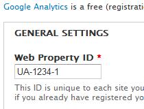 Google Analytics (Drupal)