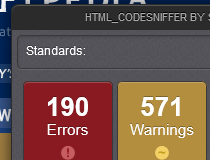 HTML_CodeSniffer