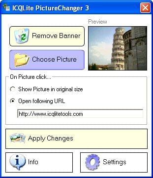ICQLite Picture Changer