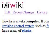 ikiwiki
