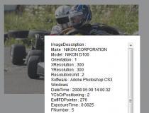 Javascript EXIF Reader