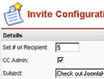 Joomla Invite