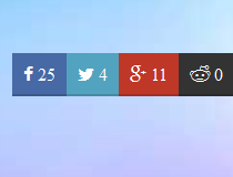 jQuery Awesome Sosmed Share Button