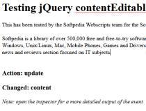 jQuery contentEditable