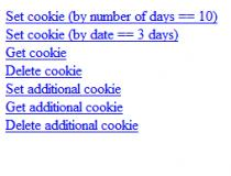 jQuery Cookie Plugin