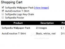 jQuery Fresh Shopping Cart