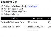 jQuery Fresh Shopping Cart