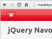 jQuery Navobile
