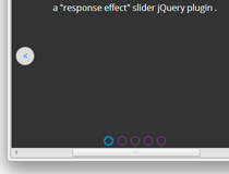 jQuery Response Slider