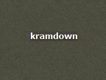 kramdown