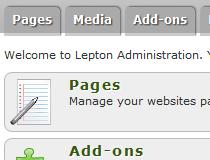 LEPTON CMS