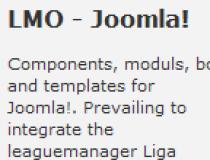 LMO - Joomla!