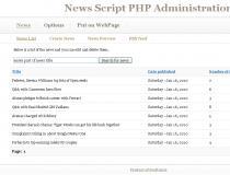 News Script PHP