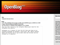OpenBlog mini