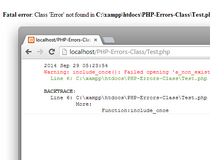 PHP-Errors-Class