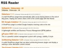 PHP RSS Reader