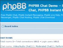 phpBB Chat Mod