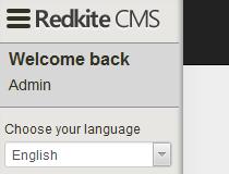 RedKite CMS