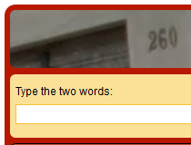 responsive reCAPTCHA