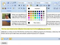 Rich Text Editor for Joomla