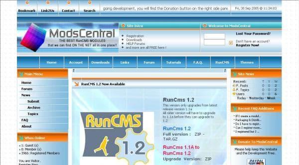 RunCMS